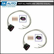 Ac Delco Pt1555 Taillight Circuit Board Repair Plug Pair Set For Buick Chevy Gmc