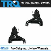 Trq Lower Control Arm Front Pair For Blazer Jimmy Pickup Truck S10 S15 Pu 4wd