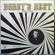 Bobby G. Rice Bobbyand039s Best Lp Vinyl Vg+ Private Wi Country Rock Jo-cur Records