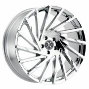 24 Inch X02 Chrome Wheels And Tires Fit 5 X 115 Great Deals