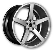 26 Inch Perfetto Silver Wheels Rims And Tires Fit 6 X 139 Suburban Escalade
