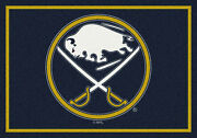 8x11 Milliken Buffalo Sabres Sports Nhl Spirit Area Rug - Approx 7and0398x10and0399