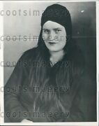 1931 Celia Valore Wife Of Cleveland Oh Murderer Press Photo