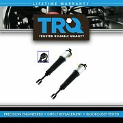 Trq Front Air Shock Assembly Lh And Rh Pair Set For Audi A8 S8 1bk Standard Susp