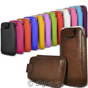 Colour Pu Leather Pull Tab Pouch Cover Case For Small Nokia Mobile Phone