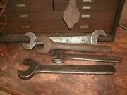 Vintage Industrial Iron Metal Wrenches Group Lot Tools Steam Punk Decor Williams