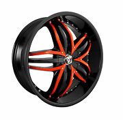 24 Inch Diablo Angel Wheel Rims And Tires Fit 6 X 139 Great Deals