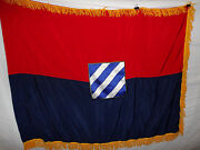 Flag103 Ww2 Us Army 3rd Infantry Division Flag