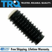 Trq Front/rear Shock Strut Bellow Dust Boot Kit For Acura Bmw Gmc Chevy Honda