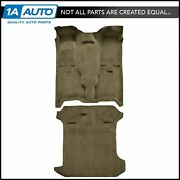 For 1993-98 Jeep Grand Cherokee Cutpile 1251-almond Complete Carpet Molded