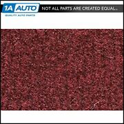 For 82-87 Lincoln Continental Complete Carpet 885 Light Maroon