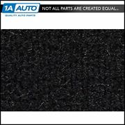 For 1974-83 Jeep Cherokee Cutpile 801-black Complete Carpet Molded