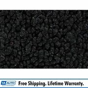 For 57 Olds Super 88 2 Door Post Cut And Sewn 80/20 Loop 01-black Complete Carpet