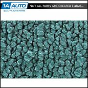For 56 Nomad With Bucket Seats Cut And Sewn 80/20 Loop 15-teal Complete Carpet