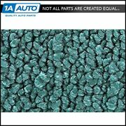 For 55 Nomad With Bucket Seats Cut And Sewn 80/20 Loop 15-teal Complete Carpet