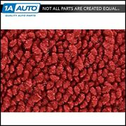 For 1966-70 Ford Falcon 4 Door 80/20 Loop 02-red Complete Carpet Molded
