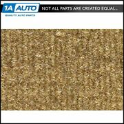 For 1981-89 Plymouth Reliant 4 Door Cutpile 854-caramel Complete Carpet Molded