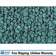 For 71-73 Cadillac Fleetwood Limousine 80/20 Loop 15-teal Complete Carpet Molded