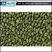 For 67-69 Plymouth Barracuda 80/20 Loop 14-moss Green Cargo Area Carpet Fastback
