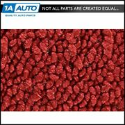 For 55-56 Ford Fairlane 4 Door Post Cut And Sewn 80/20 Loop 02-red Complete Carpet