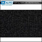 For 1981-89 Plymouth Reliant 2 Door Cutpile 801-black Complete Carpet Molded