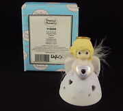 Precious Moments 115555 February Angel Avon Exclusive Collector Piece