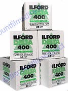 5 X Ilford Delta 400 35mm 36 Exp Cheap Bandw Camera Film By 1st Class Post