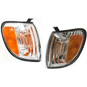 Corner Parking Turn Signal Light Lamp Left And Right Pair Set For Tundra Truck