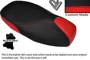 Red And Black Custom Fits Piaggio Vespa 125 Gt 1 Gts 250 300 Dual Seat Cover
