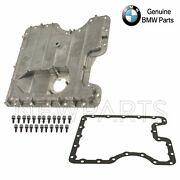 For Bmw E53 X5 4.4i Lower Engine Oil Pan W/ Drain Plug And Seal+gasket And Bolts Oes