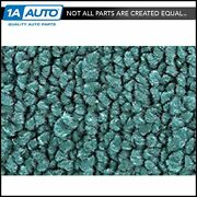 For 1968-69 Buick Special 2 Door W/o Console 15-teal Carpet 4 Speed Manual Trans