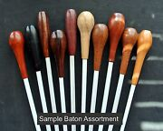 Music Conductorand039s Baton Assortment Ten Different With Gift Boxes