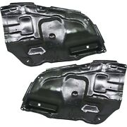 Left And Right Side Engine Splash Shield For 2005-2010 Toyota Avalon Set Of 2