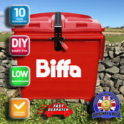 Biffa Euro Industrial Wheelie Bin Lid Strap Lock-easily Fitted And Remove.
