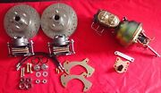 1965-1968 Ford Galaxie Power Front And Rear Disc Brake Conversion 4 Wheel Disc