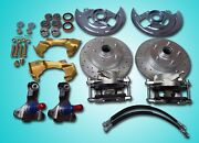 1967 1968 1969 Camaro Front Disc Brake Conversion Stock Ride Height Dands Rotor