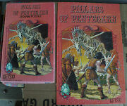 Rare Vintage Pillars Of Pentegarn Dungeons And Dragons 200 Piece Puzzle Complete