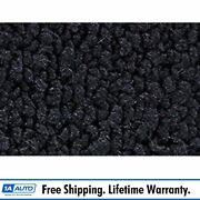 55-59 Gmc Truck Regular Cab Low Tunnel Pass Area Carpet 29 Midnight Blue Molded