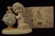 Precious Moments, 522082, May Your World Be Trimmed With Joy, Vessel Mark, 1991