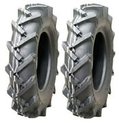 Two New 4.00-12 Vredestein 4 Ply Lawn And Garden Tractor Lug Tires And Tubes 400 12