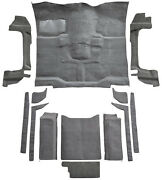 Replacement Flooring Set Complete For Jeep Wrangler 18092-162 Mass Backing