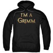 Grimm Police Drama Supernatural Tv Series Nbc Iand039m A Grimm Adult Pull-over Hoodie