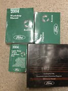 2004 Ford Ranger Truck Service Shop Repair Manual Set W Pced Ewd And Specs Huge