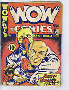 Wow Comics 16 Bell Features Pub. Rare Canadian Edition