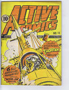 Active Comics 11 Bell Features Canadian Edition Active Jim Classic Cover