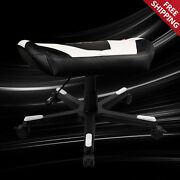 Dxracer Fx0/nw Adjustable Storage Ottoman Footstool Chair Gaming Seat