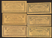 6 Old United Cigar Stores Company 1 Certificate Coupons Free Ship Tc16