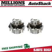 Front Wheel Hub Bearing Assembly Pair 2 For 1999-2004 Ford F-250 Super Duty 7.3l