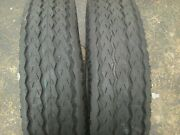 Two 8x14.5, 8-14.5 Low Boy, Rv, Camper, Utility 12 Ply Tubeless Trailer Tires