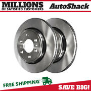 Front Disc Brake Rotors Pair 2 For Ford Expedition F-150 Lincoln Navigator 6.2l